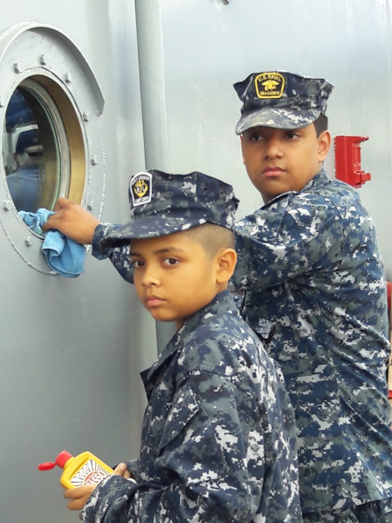 Cadets Avila and Araiza